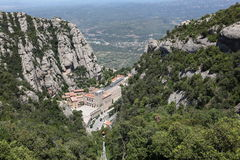 Santa Maria de Montserrat Abbey Imagen de archivo