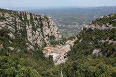 Santa Maria de Montserrat Abbey Fotos de archivo libres de regalías