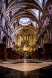 Santa Maria de Montserrat Abbey Royaltyfria Foton