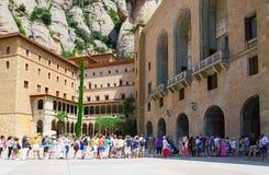 Santa Maria de Montserrat Abbey Fotografering för Bildbyråer