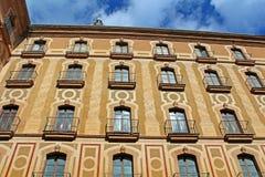 Santa Maria de Montserrat Abbey, Catalonia, Spain Royalty Free Stock Photos