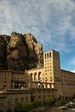 Santa Maria de Montserrat Abbey Catalonia, Spanien. Royaltyfria Foton