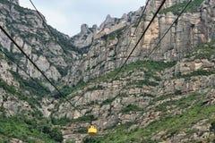 Santa Maria de Montserrat Abbey (Cataluña, España) Fotografía de archivo libre de regalías