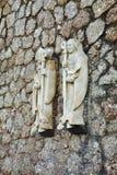 Santa Maria de Montserrat Abbey cerca de Barcelona españa Foto de archivo libre de regalías