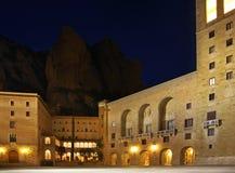 Santa Maria de Montserrat Abbey cerca de Barcelona españa Imágenes de archivo libres de regalías