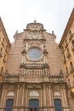 Santa Maria de Montserrat Abbey en Cataluña, España Imágenes de archivo libres de regalías
