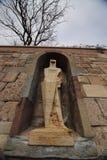 Santa Maria de Montserrat Abbey, España Imagenes de archivo