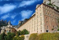 Santa Maria de Montserrat Abbey Stock Photography