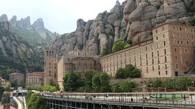 Santa Maria de Montserrat Abbey Royalty Free Stock Photography