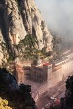 Santa Maria de Montserrat es una abadía benedictina Imágenes de archivo libres de regalías