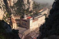 Santa Maria de Montserrat es una abadía benedictina Fotos de archivo