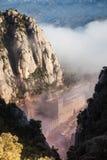 Santa Maria de Montserrat es una abadía benedictina Fotografía de archivo