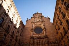Santa Maria de Montserrat es una abadía benedictina Imagenes de archivo