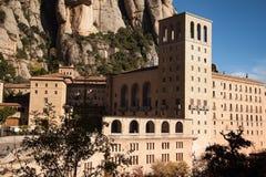 Santa Maria de Montserrat es una abadía benedictina Fotografía de archivo libre de regalías