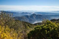 Santa Maria de Montserrat ist eine Benediktinerabtei, Landschaft Stockbild