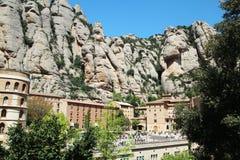 Santa Maria de Montserrat-Kloster, Spanien Stockbild