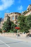 Santa Maria de Montserrat monastery Stock Images