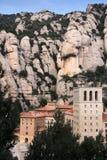 Santa Maria de Montserrat monastery, Spain Royalty Free Stock Photo