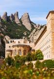 Santa Maria de Montserrat monastery Stock Photography