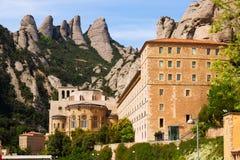 Santa Maria de Montserrat monastery Royalty Free Stock Image