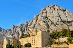 Santa Maria de Montserrat, Spain Stock Photo