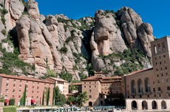 Santa Maria de Montserrat, Spain Royalty Free Stock Images