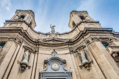Santa Maria de Porto Salvo in Valletta, Malta Stock Photo