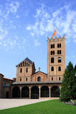 Santa Maria de Ripoll monastery (Catalonia, Spain) Stock Image