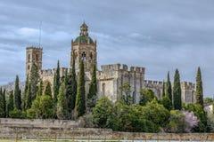Santa Maria de Santes Creus, España Fotografía de archivo