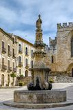 Santa Maria de Santes Creus, España Fotografía de archivo libre de regalías