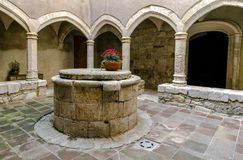 Santa Maria de Santes Creus, España Foto de archivo libre de regalías