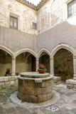 Santa Maria de Santes Creus, España Fotos de archivo libres de regalías