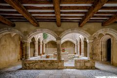 Santa Maria de Santes Creus, Spain Royalty Free Stock Image