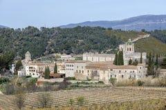 Santa Maria de Santes Creus, Spanien Stockfotos