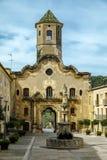 Santa Maria de Santes Creus, Spanien Lizenzfreies Stockbild