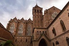 Santa Maria de Valldonzella kloster, yttre sikt Arkivbild