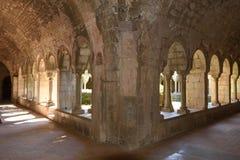 Santa Maria de Vilabertran, Alt Emporda Royalty-vrije Stock Fotografie