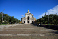 Santa Maria degli Angeli Royalty Free Stock Photography