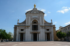 Santa Maria degli Angeli in Assisi Stock Photography
