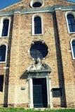 The Santa Maria degli Angeli church, Murano, Italy Stock Photos