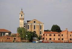 The Santa Maria degli Angeli church, Murano, Italy Stock Images