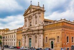 Santa Maria degli Angeli e dei Martiri, Basilica in Rome Stock Image