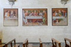 Santa Maria degli Angioli church at Lugano, Switzerland Royalty Free Stock Photography