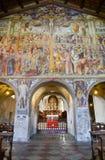 Santa Maria degli Angioli church at Lugano, Switzerland Royalty Free Stock Photos