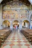 Santa Maria degli Angioli church at Lugano, Switzerland Royalty Free Stock Photo