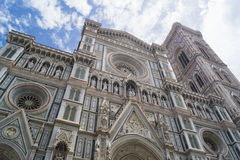 Santa Maria dei Fiori. One of the biggest cathedrals in the world Royalty Free Stock Photos
