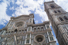 Santa Maria dei Fiori. One of the biggest cathedrals in the world Stock Image