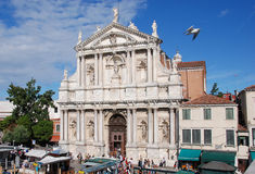 Santa Maria dei Giglio Royaltyfri Fotografi