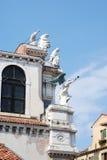 Santa Maria dei Giglio church Royalty Free Stock Photo