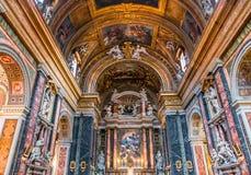 Santa Maria dei Miracoli church, Rome, Italy Royalty Free Stock Photos